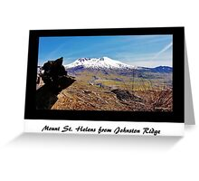 Mount St. Helens from Johnston Ridge Greeting Card