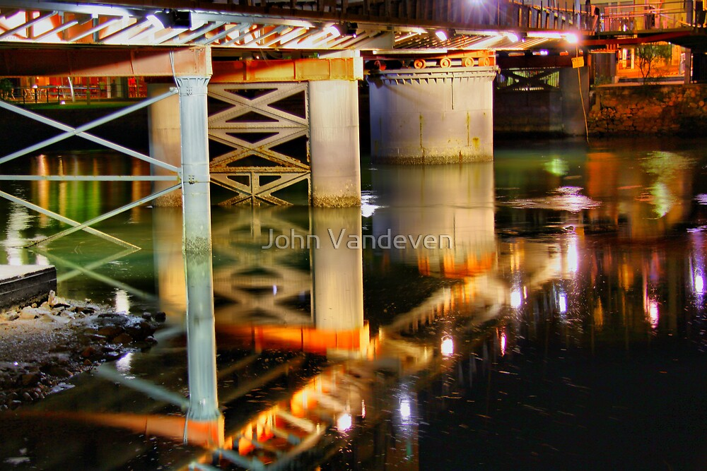 Townsville at Night 2 by John Vandeven
