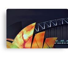 Opera House In Drag Canvas Print