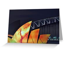 Opera House In Drag Greeting Card