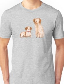 Brittany Spaniels Unisex T-Shirt