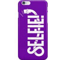 Selfie - purple iPhone Case/Skin