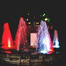 Niagara Falls fountain at night...! by sendao