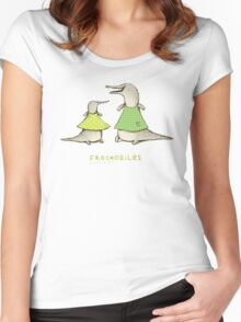 Frockodiles Women's Fitted Scoop T-Shirt