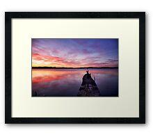 Stunning skies Framed Print