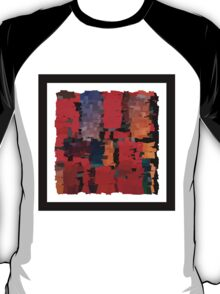 Modern abstract art bright blots and splashes T-Shirt