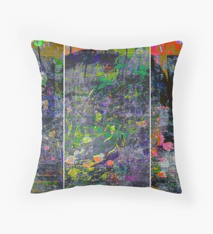 IN BLOOM (triptych) Throw Pillow