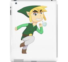 Cartoon Link Green iPad Case/Skin