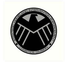 S.H.I.E.L.D logo Art Print