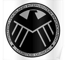 S.H.I.E.L.D logo Poster