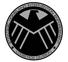 S.H.I.E.L.D logo Photographic Print