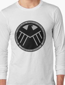 S.H.I.E.L.D logo Long Sleeve T-Shirt