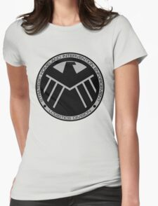 S.H.I.E.L.D logo Womens Fitted T-Shirt