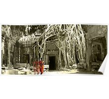 Peace at Ta Prohm  Poster