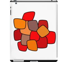 Modern abstract art bright blots and splashes  iPad Case/Skin