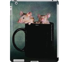 Tea for two iPad Case/Skin