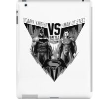 The Dark Knight VS The Man of Steel iPad Case/Skin