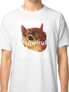 Dyslexic Squirrel Classic T-Shirt