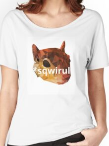 Dyslexic Squirrel Women's Relaxed Fit T-Shirt