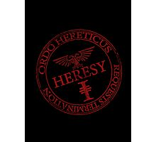 Heresy Photographic Print