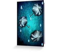 umbrella day Greeting Card