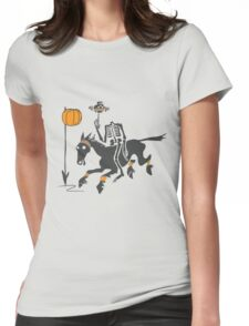 Headless Horseman Hoops Womens Fitted T-Shirt