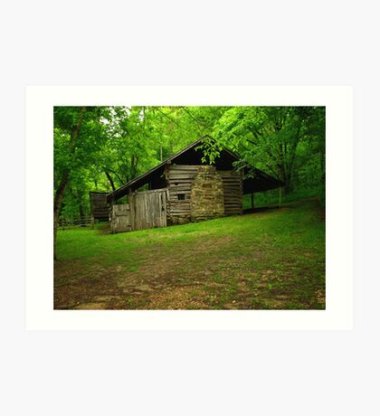 Beaver Jim Villines Boyhood Home Art Print