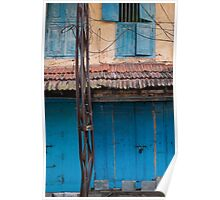 Blue door, Cochin Poster