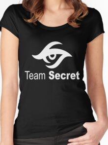 Team Secret Collector Items Dota 2 Women's Fitted Scoop T-Shirt