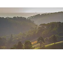 Hills and Valleys Photographic Print