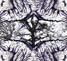 wolf rug Sticker