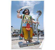 Mahishasura, Mysore, India Poster