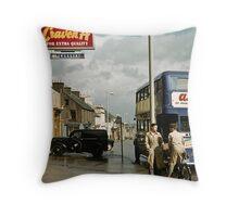 Archterarder street Scotland 19570907 0011 Throw Pillow