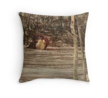 Sinking Dessert Throw Pillow