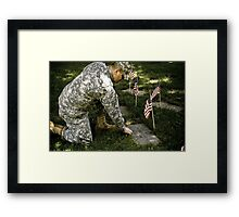 Honor thy Father..... Framed Print