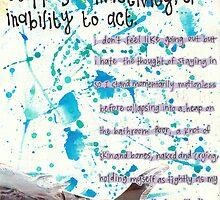 PARALYSIS by Kim Throneberry