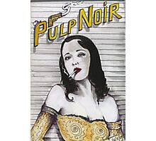 PULP NOIR  Photographic Print