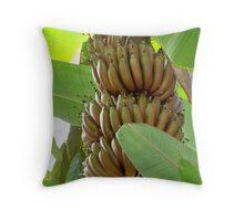 Gone Bananas Throw Pillow