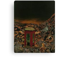 Dr Who? Canvas Print