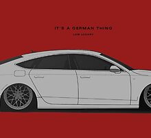 Audi A7 Low Luxary by Revoltec17