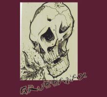 Grubbanax - Fire Skull by grubbanax