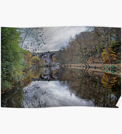 Knaresborough & The River Nidd Poster