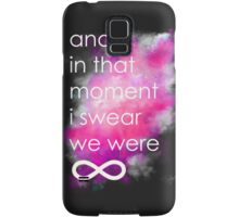 the perks of being a wallflower Samsung Galaxy Case/Skin