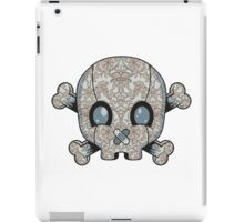 Damask Skull iPad Case/Skin