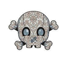 Damask Skull by MarcoCapra89