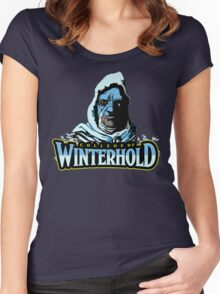 College of Winterhold Women's Fitted Scoop T-Shirt