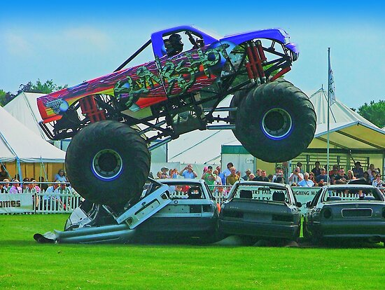Monster Truck Madness - Surrey County Show - Guildford by Colin J Williams Photography