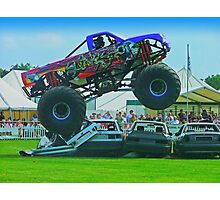 Monster Truck Madness - Surrey County Show - Guildford Photographic Print