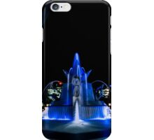 Fountain Blue iPhone Case/Skin