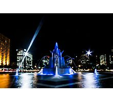 Fountain Blue Photographic Print